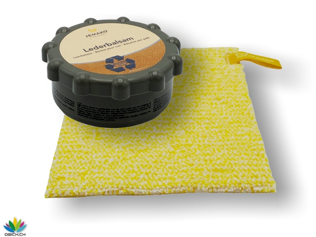 Lederbalsam - Set Duo Tuch